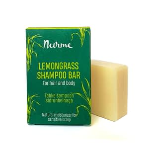 Nurme tahke šampoon sidrunheinaga 100g