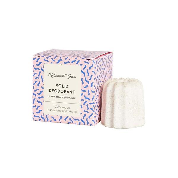 HelemaaalShea tahke deodorant palmarosa ja geranium