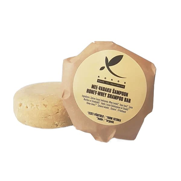 Kokos mee-vadaku tahke šampoon