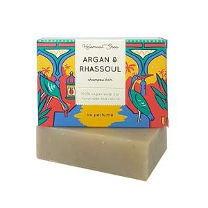 HelemaalShea tahke šampoon argaaniaõli ja rhassoul saviga 110g