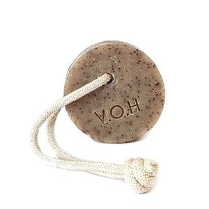 V.O.H kooriv seep kohvi ja greibiga, nööriga 90g