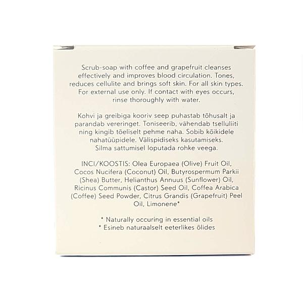 voh kooriv seep kohvi ja greibiga 90g