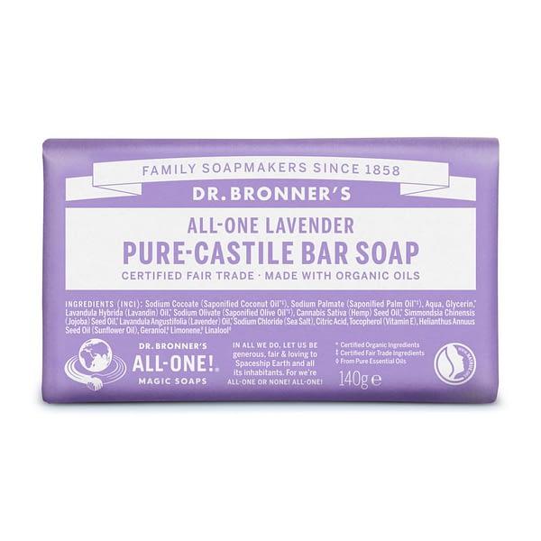 Dr. Bronner's tükiseep lavendliga toote pilt 1