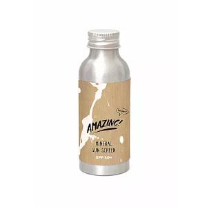 Amazinc mineraalne vegan päikesekaitsekreem (SPF50+) 100ml