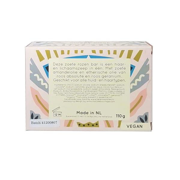 HelemaalShea roosiõliga seep kehale ja juustele