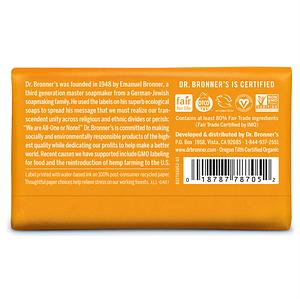 Dr. Bronner's tükiseep (tsitrus-apelsin) 140g