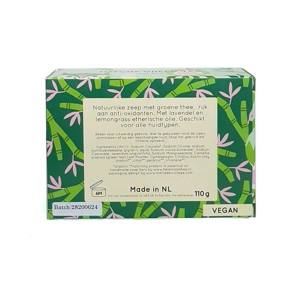 HelemaalShea seep matcha rohelise teega