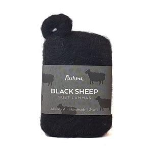Nurme vilditud tõrvaseep Must Lammas 80g