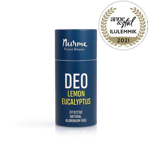 Nurme looduslik deodorant sidruni ja eukalüptiga 80g toote pilt