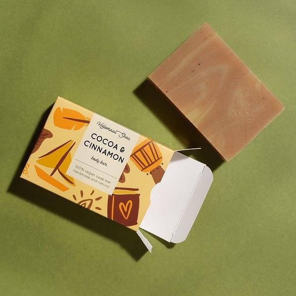 HelemaalShea seep kakao ja kaneeliga 110g