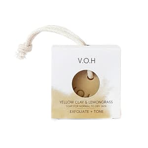 V.O.H kollase savi seep sidrunheinaga, nööriga 90g