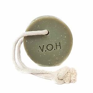 V.O.H rohelise savi seep bergamotiga, nööriga 90g