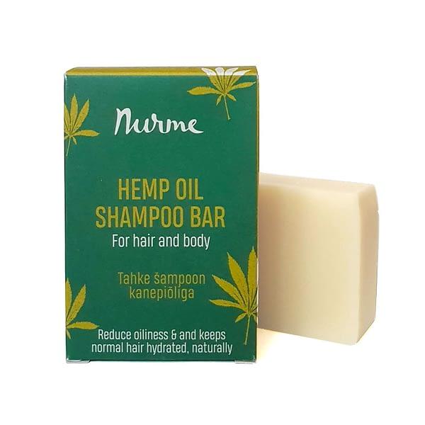 Nurme tahke šampoon kanepiõliga 100g