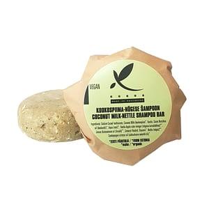 Kokos tahke šampoon (kookospiima-nõgese) 90g